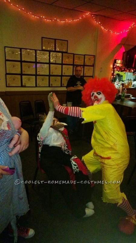 Creepy Dead Ronald Mcdonald Costume - 7