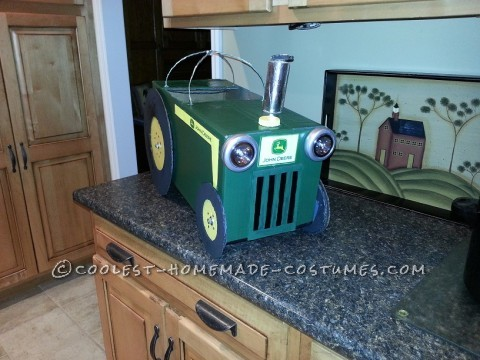Coolest Diaper Box John Deere Costume