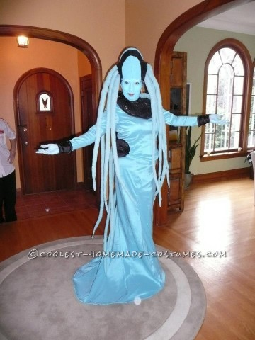 Entirely Handmade Diva Plavalaguna Costume from The Fifth Element