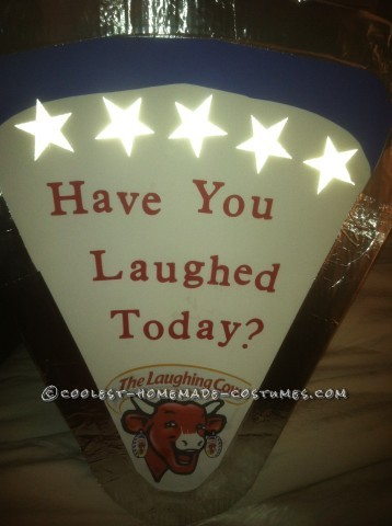 The Laughing Cow Cheese Wedge Costume