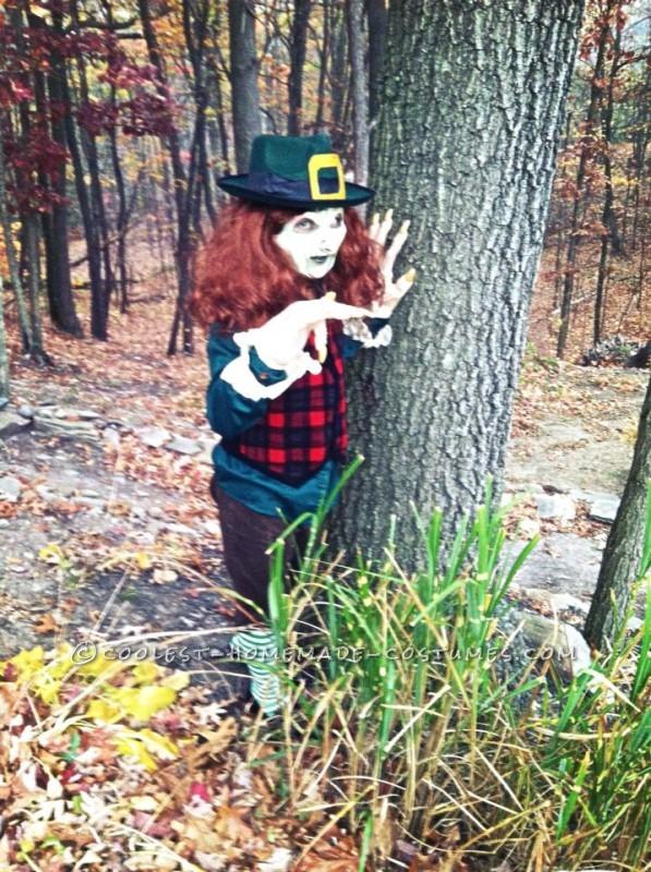 Coolest Homemade Leprechaun Child Costume - 1