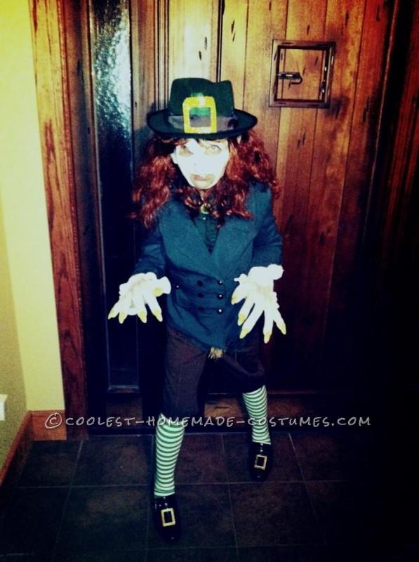 Coolest Homemade Leprechaun Child Costume - 2