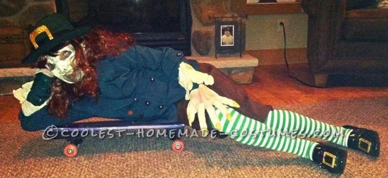 Coolest Homemade Leprechaun Child Costume - 3