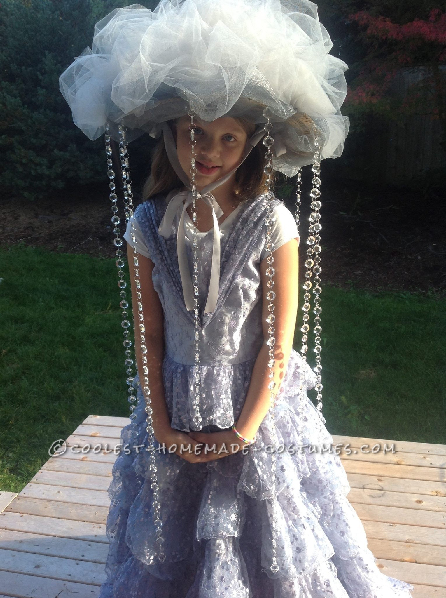 The Most Fabulous Rain Cloud Costume for a Girl