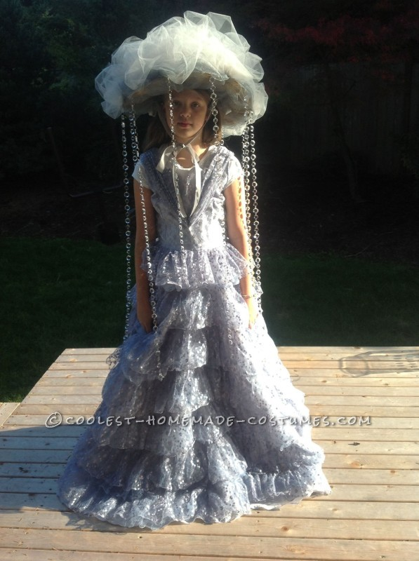 The Most Fabulous Rain Cloud Costume for a Girl - 1