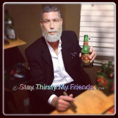 coolest homemade dos equis beer costumes