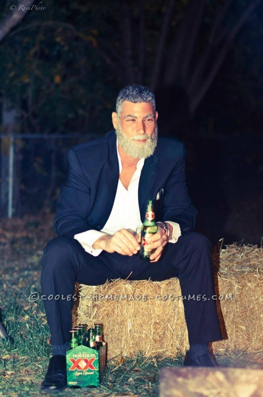 Coolest Dos Equis Beer Commercial Costume: The Most Interesting Man in The World