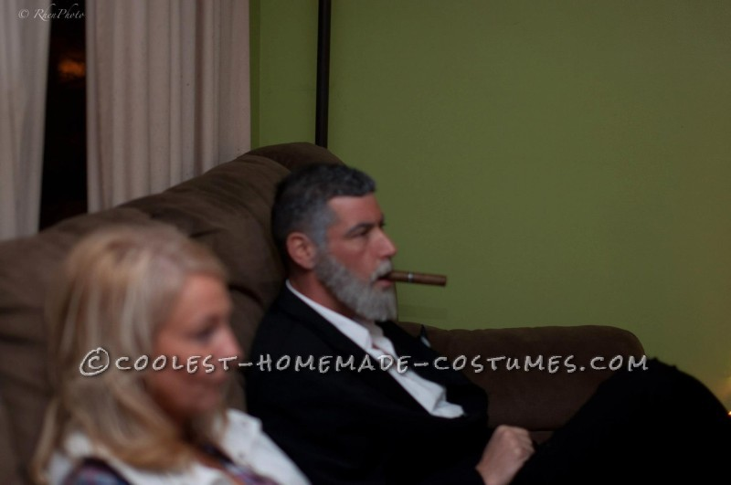 Coolest Dos Equis Beer Commercial Costume: The Most Interesting Man in The World - 3