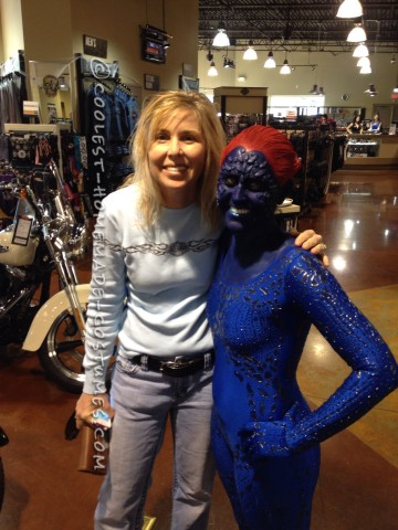The Mystique Costume That I Spent 4 Months Planning For!