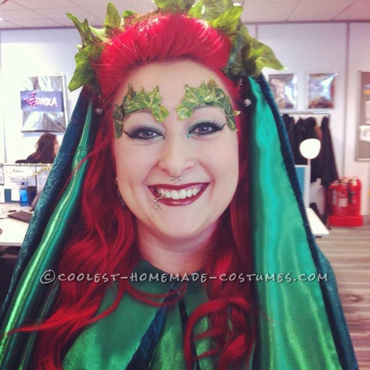The Perfect Homemade Poison Ivy Costume - 1