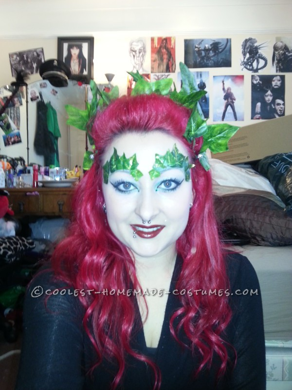 The Perfect Homemade Poison Ivy Costume - 2
