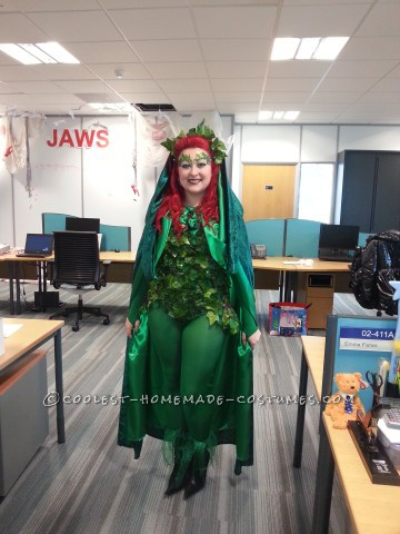The Perfect Homemade Poison Ivy Costume