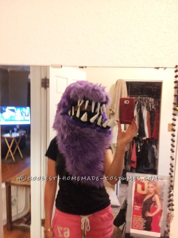 Awesome Homemade Purple People Eater Costume - 6