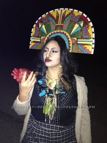 Homemade Sacrifice Priestess Costume