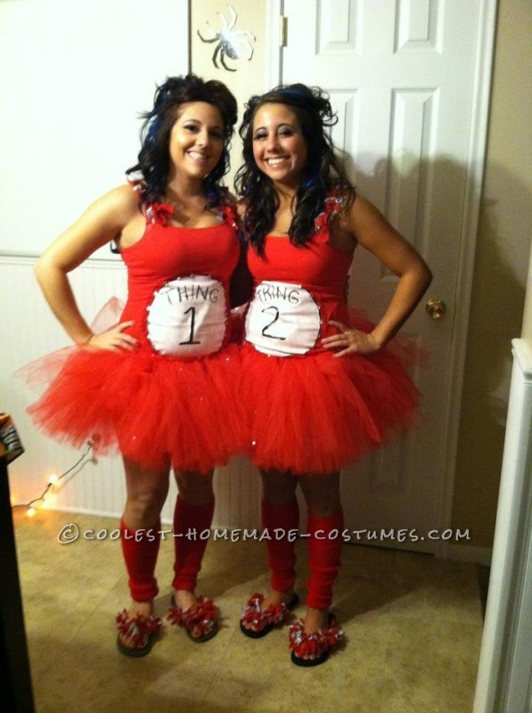 Thing 1 & Thing 2 Adult Women Costumes