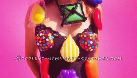 Homemade Candy Crush Costume