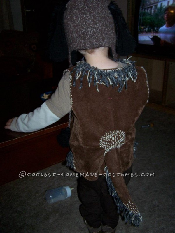 Cute DIY Hound Dog Costume for a Toddler - 1