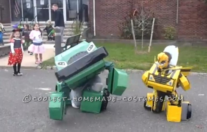 Awesome Transformers Costumes That Actually Transform!