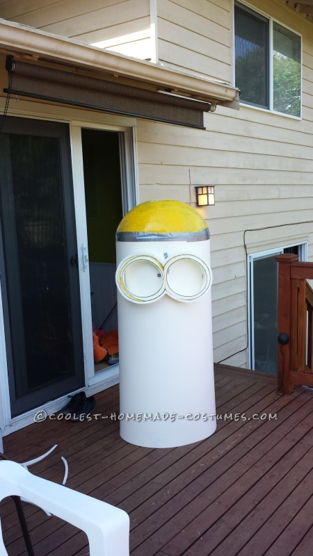 Awesome Homemade Trio of Despicable Me Minions Group Costume - 5