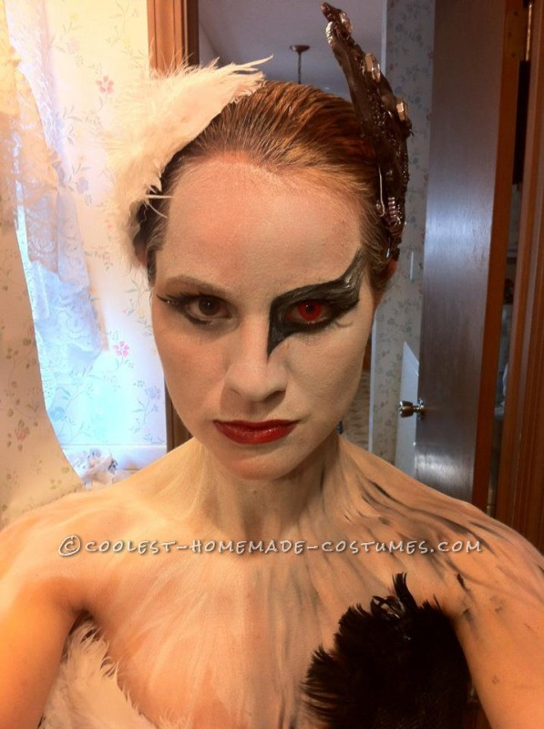One Red Contact, Makeup