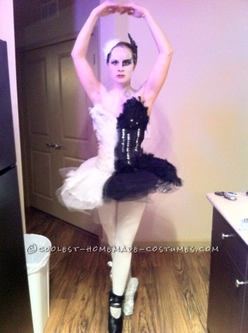 Original Two-Faced Black Swan Costume