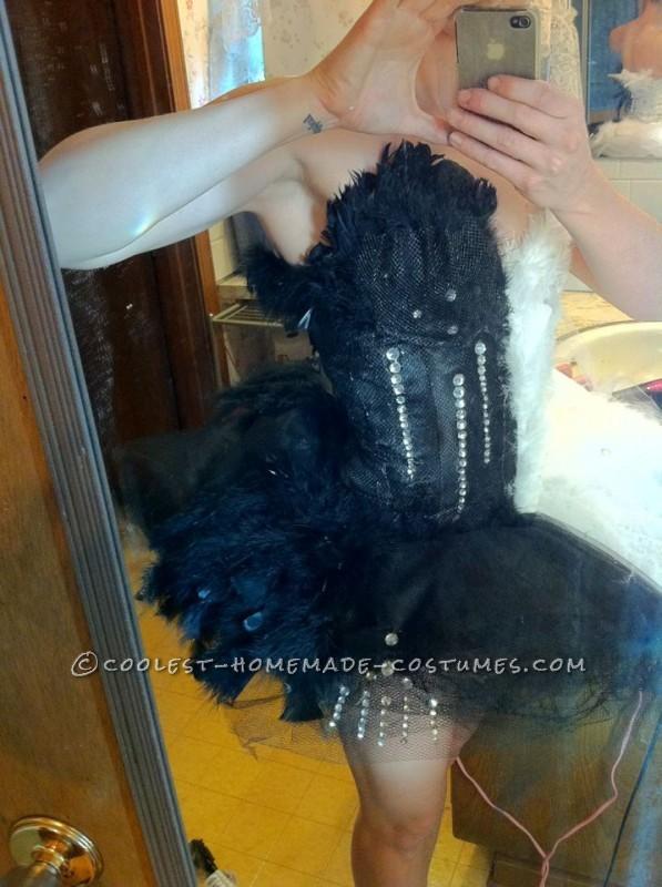 Original Two-Faced Black Swan Costume