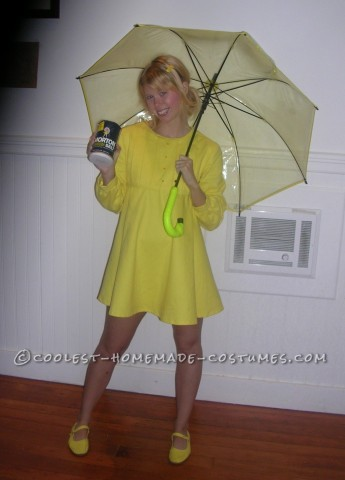 Unique Costume Idea for a Woman: Morton Salt Girl
