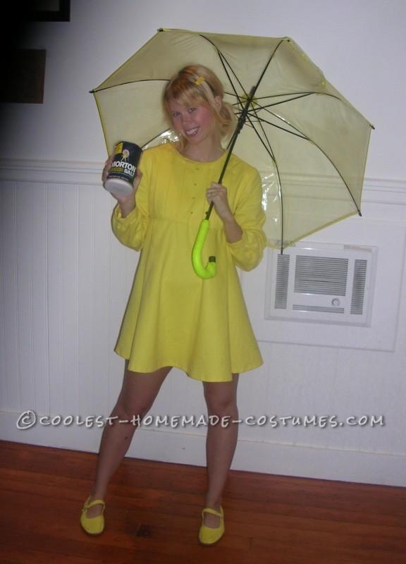 Unique Costume Idea for a Woman: Morton Salt Girl