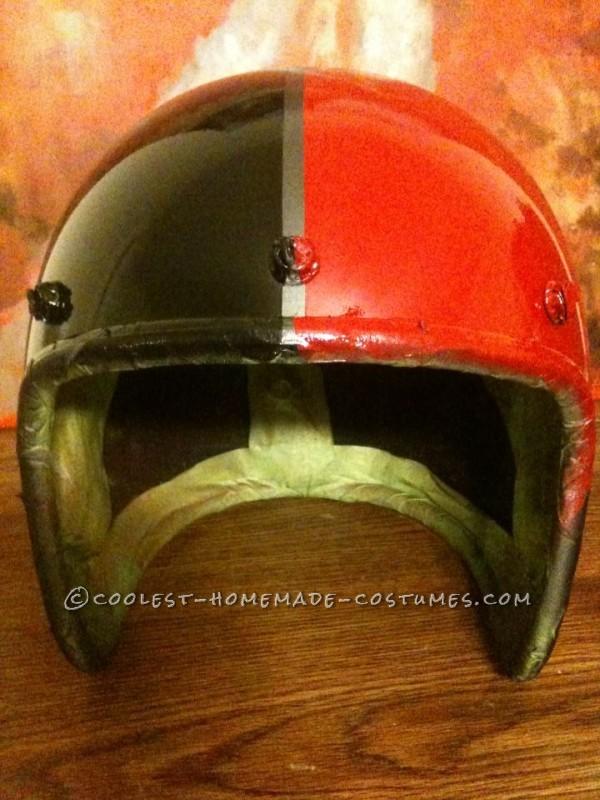 Front of helmet
