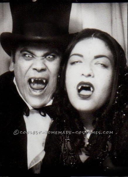 Homemade Vintage Vampires Costumes