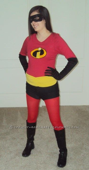 Coolest Homemade Violet (from The Incredibles) Costume