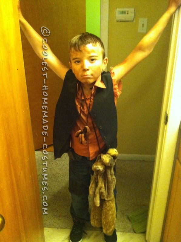 Homemade Daryl Dixon from the Walking Dead Costume - 1
