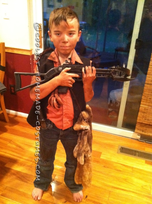 Homemade Daryl Dixon from the Walking Dead Costume - 3