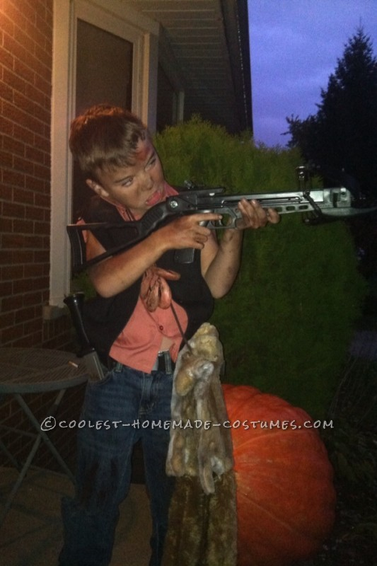 Homemade Daryl Dixon from the Walking Dead Costume - 2