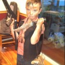 Homemade Daryl Dixon from the Walking Dead Costume