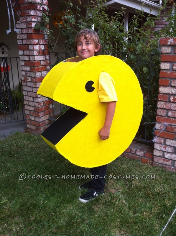 Want a Fun and Easy Homemade Costume? Be Pac-Man!