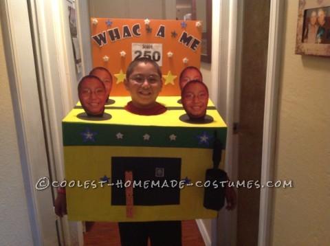 Original DIY Costume Idea: Whac-A-Me Arcade Game
