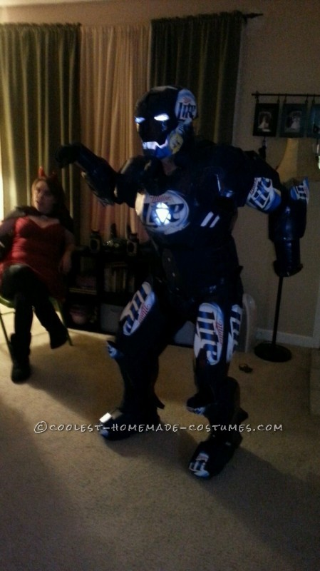 What if Iron Man Needed Sponsors? The Iron Can Costume!