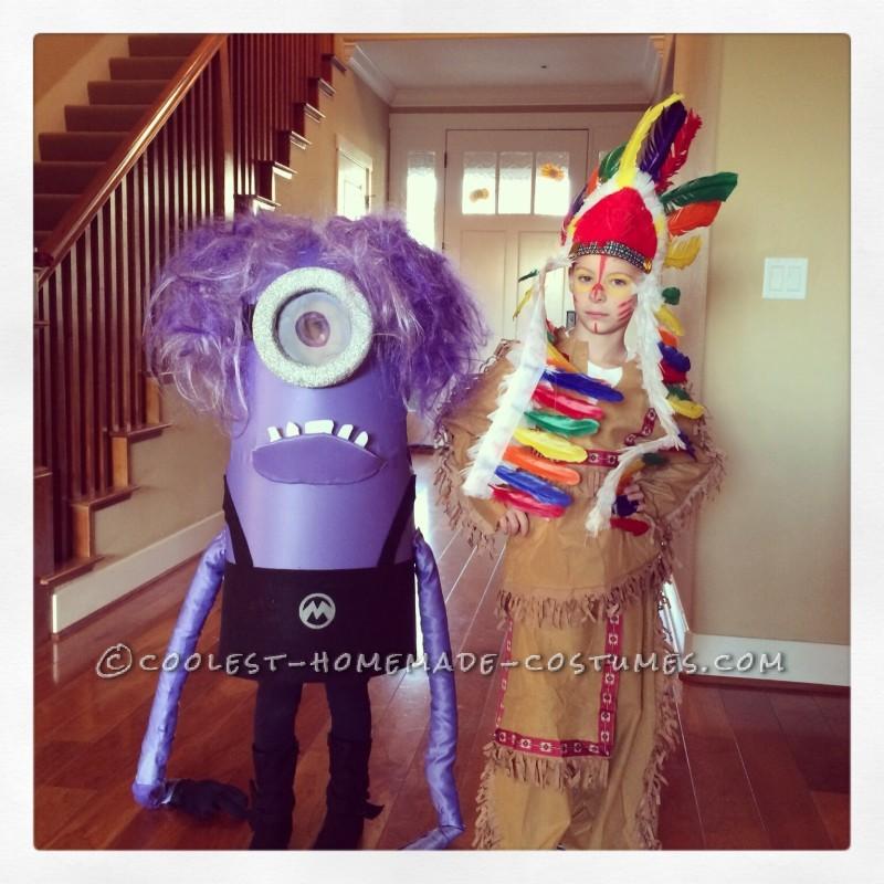 Make an Awesome Homemade Purple Minion Costume