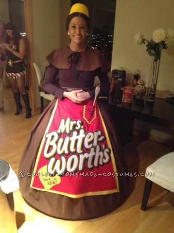 "Who Does a ""Butter"" Homemade Costume than Mrs. Butterworth?"