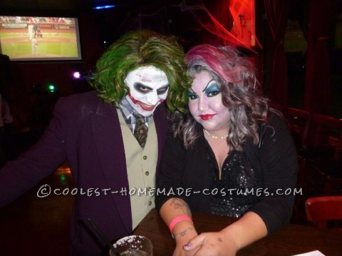 Cool Homemade Joker Halloween Costume