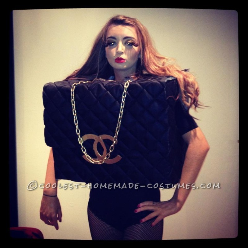 Original DIY Woman's Chanel Bag Costume