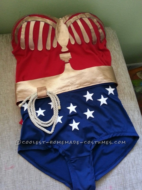 Coolest Homemade Wonder Woman Costume