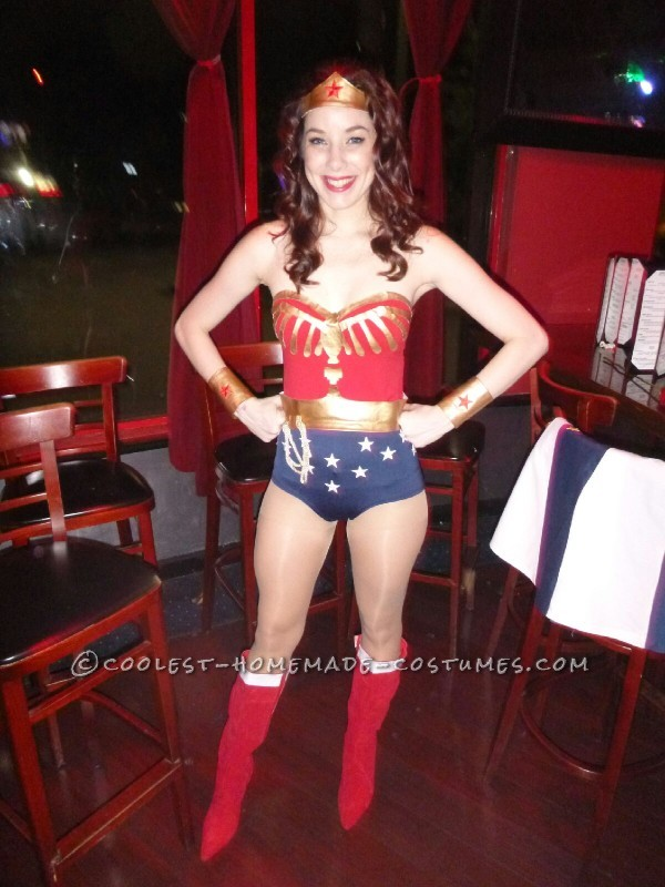 Coolest Homemade Wonder Woman Costume - 5