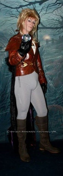Coolest King Jareth from Labyrinth Homemade Costume - 2