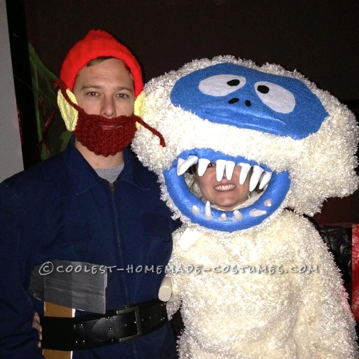 Yukon Cornelius and the Bumble Homemade Couple Costume