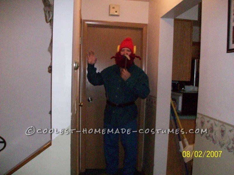 Yukon Cornelius and the Bumble Couple Halloween Costume