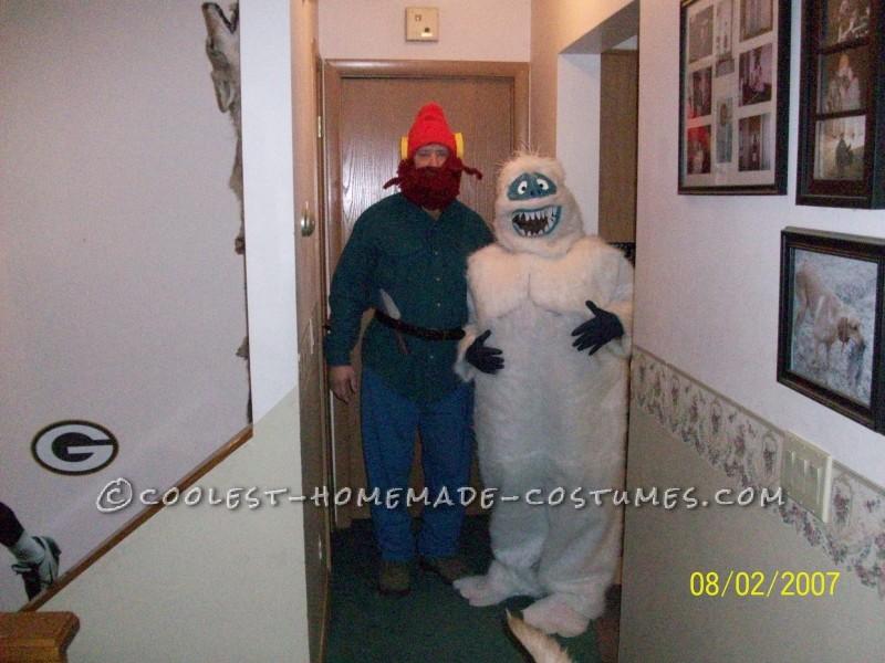 Yukon Cornelius and the Bumble Couple Halloween Costume