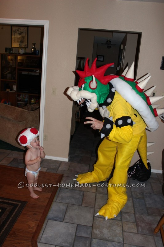 Cool Homemade Super Mario Family Costume