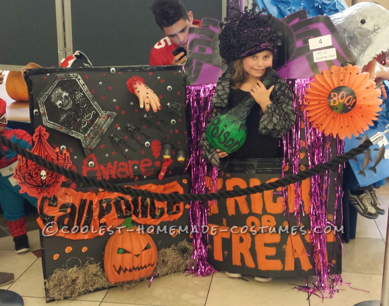 Halloween Greeting Card Costume